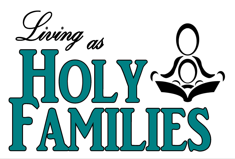 Holy Families Logo - Aqua Letter